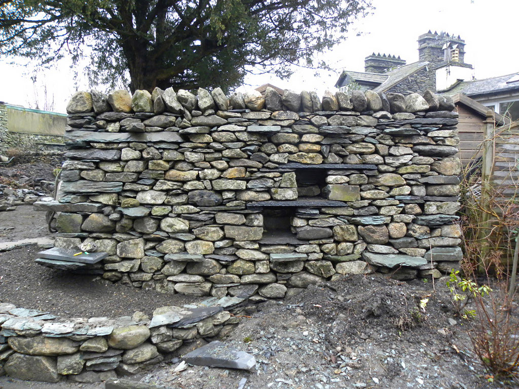 Stone Wall Construction : Lake district stonework william sutherland